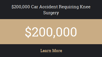 $200,000 Car Accident Requiring Neck Surgery
